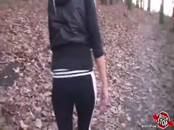скриншот для Блонди завела парня в лес и отдалась ему